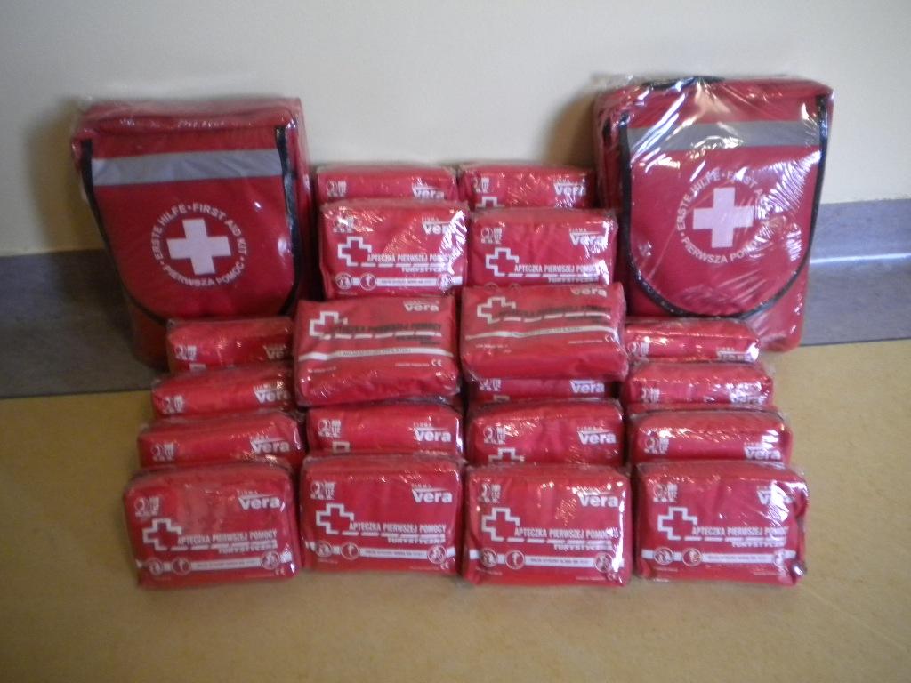 apteczki pierwszej pomocy