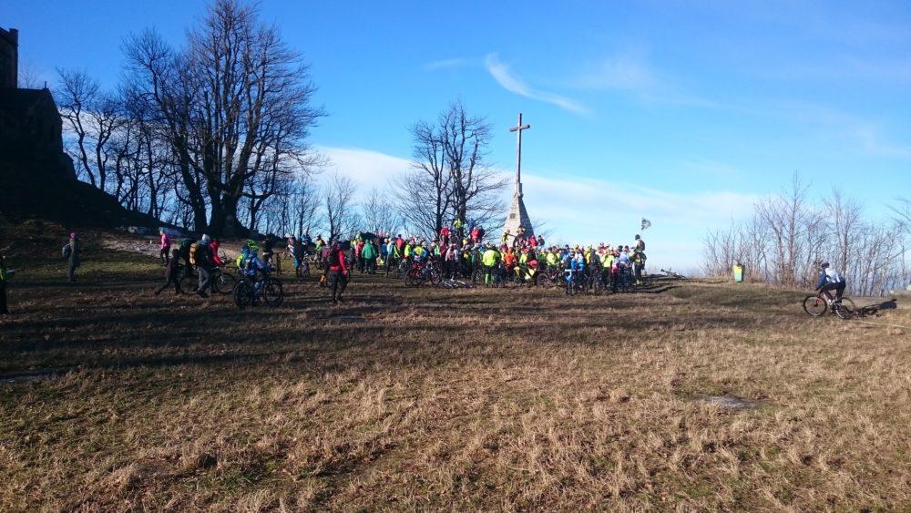 Sylwestrowe wejście na Ślężę - 31.12.2015
