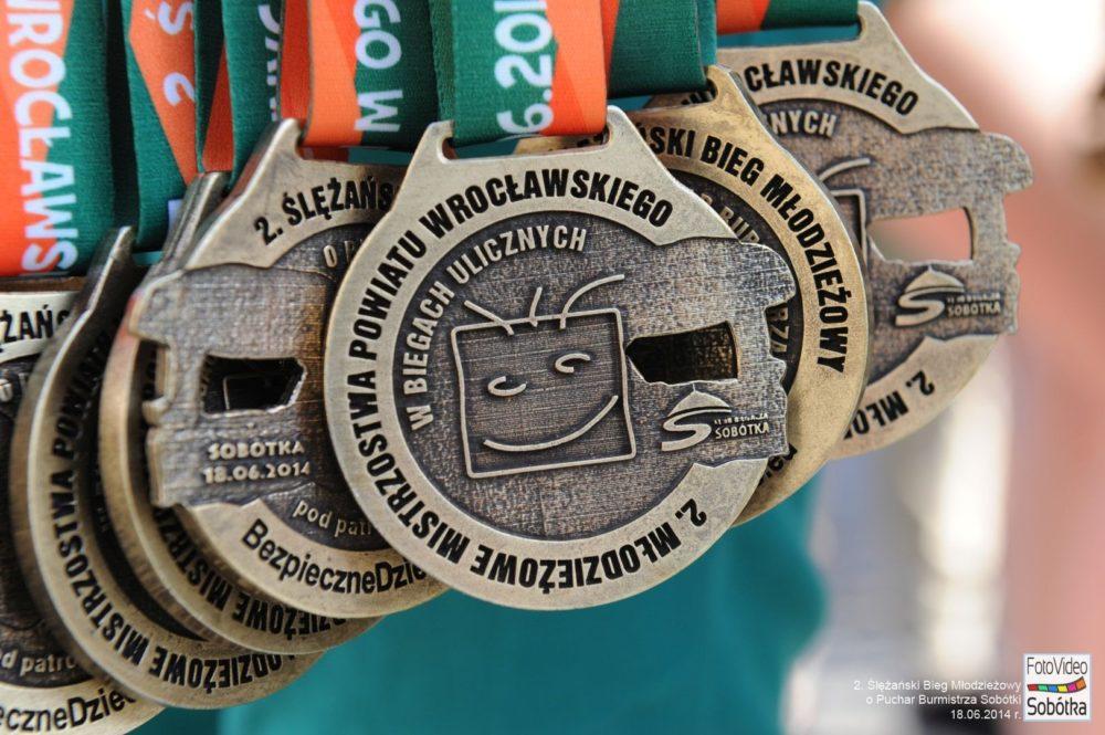 Medale Ślężańskiego Biegu Młodzieżowego